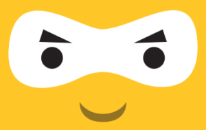 Ninja Face Yellow