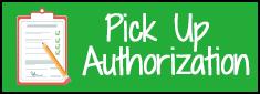 pickup authorization form