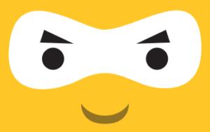 Ninja Face Yellow