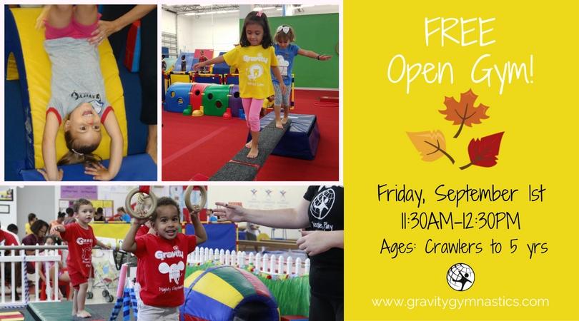 Open Gym Sept